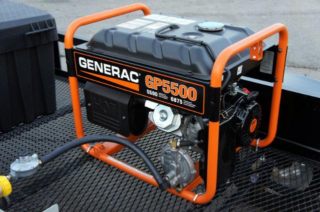 natural gas tri fuel portable generator