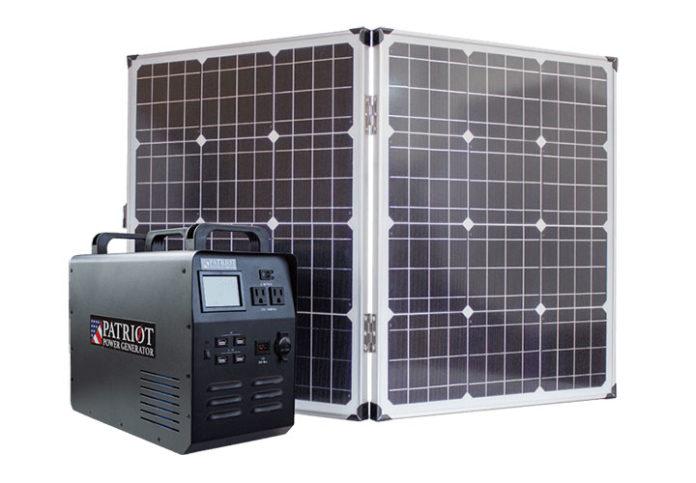 solar powered portable generator