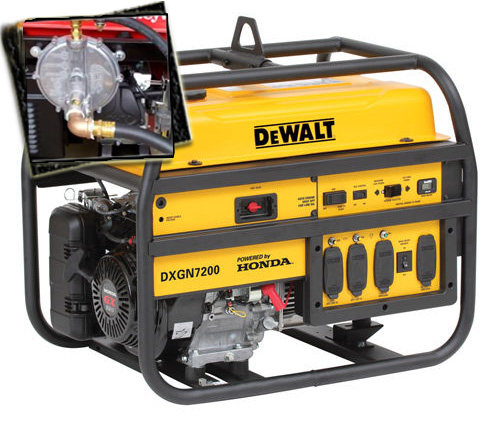 tri and dual fuel generators