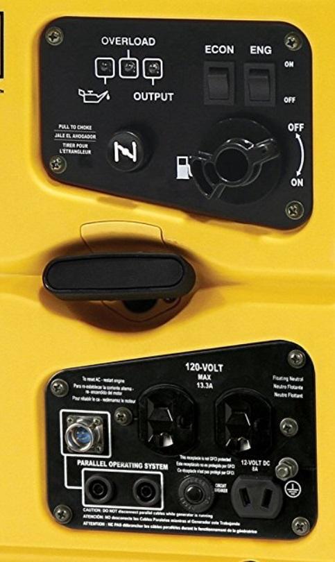 champion 2000 watt inverter generator features