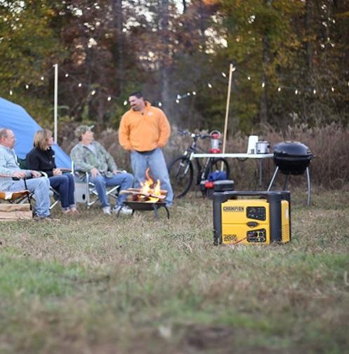 champion 2000 watt inverter generator travel trailer rv