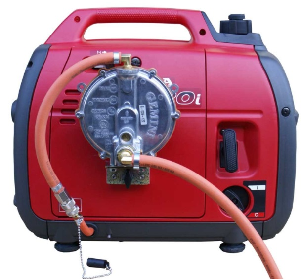 how to convert a gas generator to natural gas
