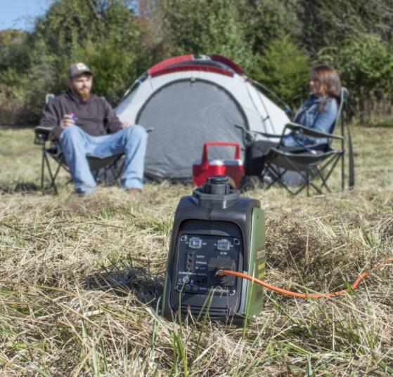 sportsman 1000 watt inverter generator camping rv