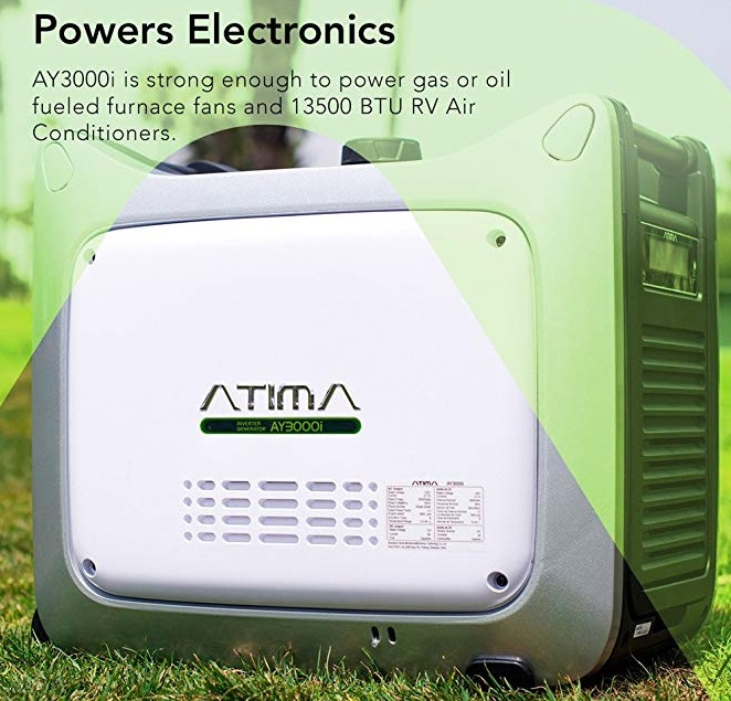 atima ay3000i inverter generator specifications