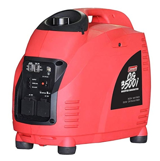 coleman cg3500i inverter generator review
