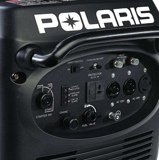 polaris p3000ie inverter generator features