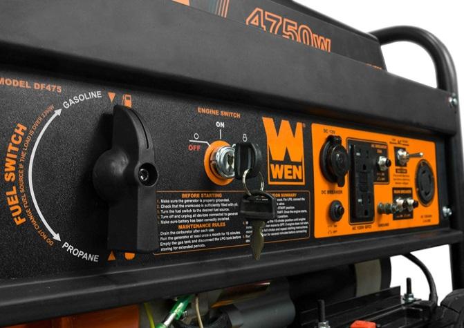 wen generator 4750 specs