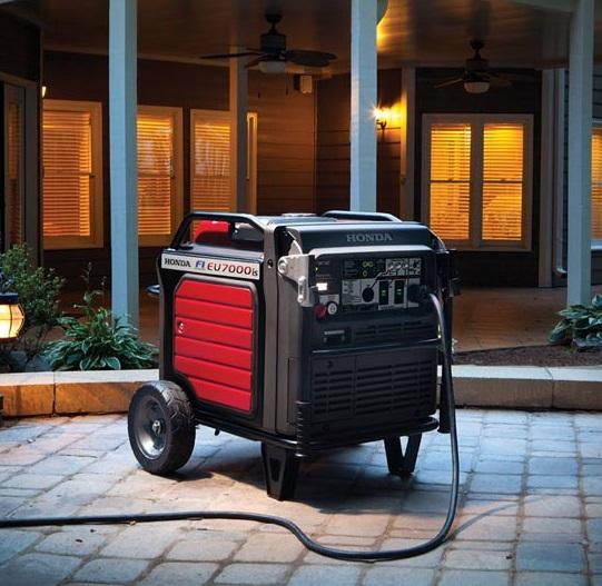 honda 7000 watt inverter generator