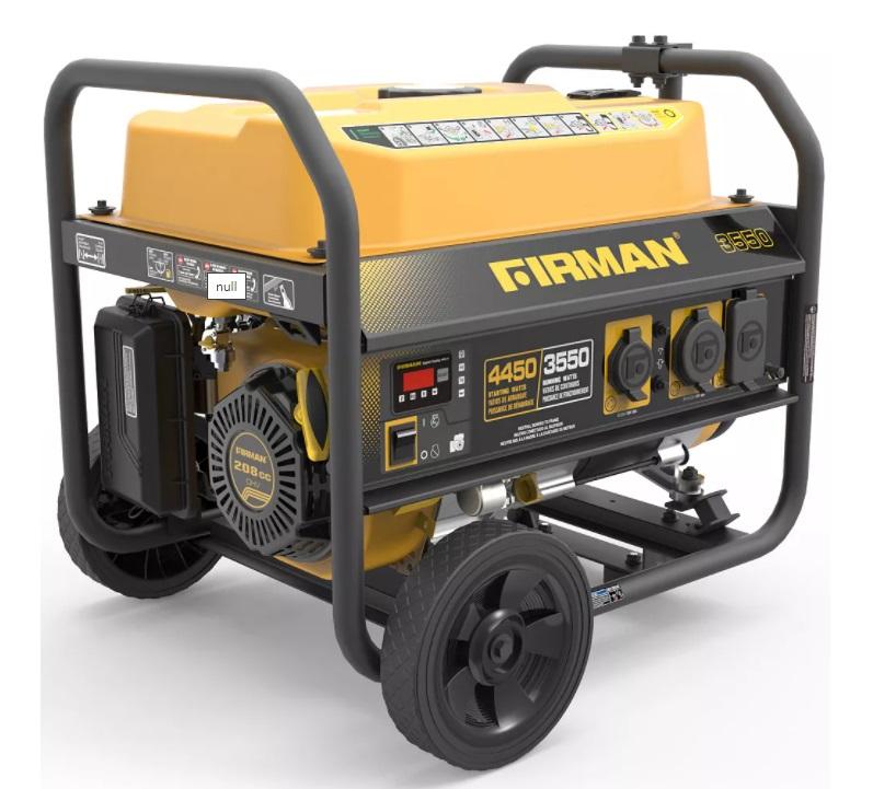 firman 4550 camping generator