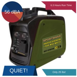 sportsman 1000 watt inverter generator review 2018