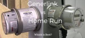 Generlink vs Home Run meter mounted transfer switch