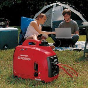 honda eu1000i silent camping generator